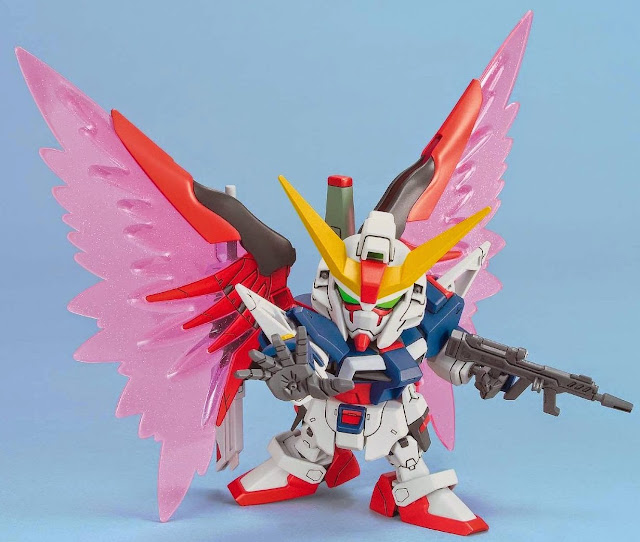 Lắp ghép Destiny Gundam không tỷ lệ, cao khoảng 8 cm