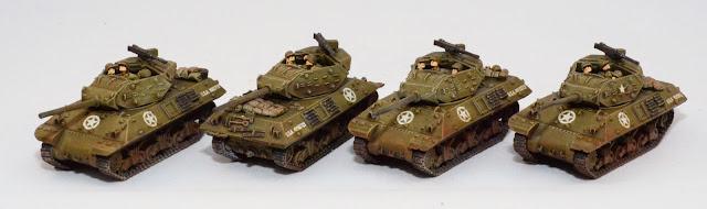 Flames of War M10 Tank Destroyers