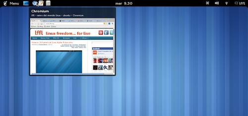 TaskBar su Gnome Shell
