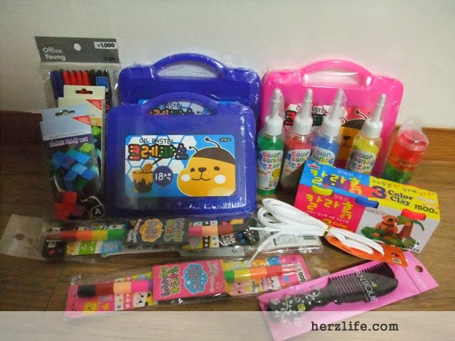 Shopping Loot from Daiso Icheon