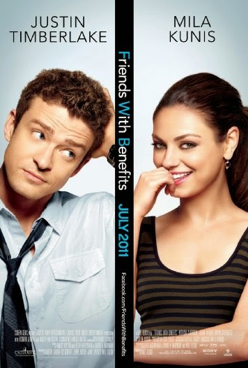 Poster Of English Movie Friends with Benefits (2011) Free Download Full New Hollywood Movie Watch Online At alldownloads4u.com
