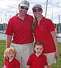 J/22 family sailing Toronto, Ontario, Canada