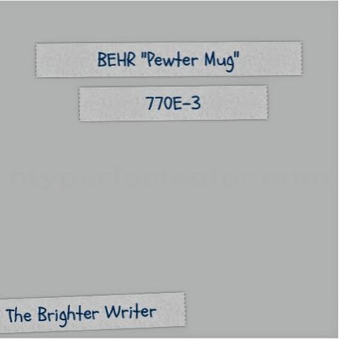 The Brighter Writer 50 Shades Of Pewter Mug