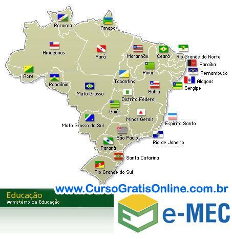 Cursos Superiores Reconhecidos pelo MEC