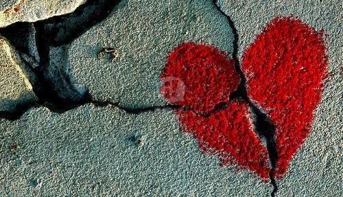 Un corazón roto es un corazón abierto