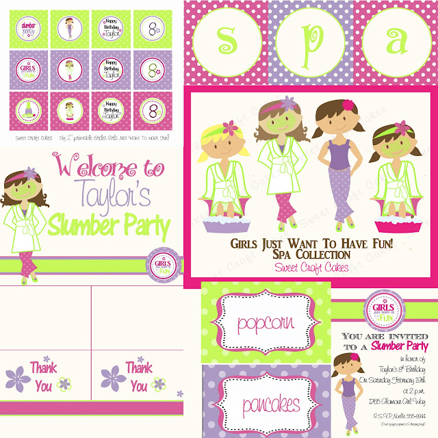 Spin The Bottle Nail Polish Game Gotr Girlsontherun: Moodylicious Girls Just Wanna Have Fun Spa Party