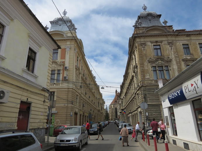 Strada oglinda din Cluj