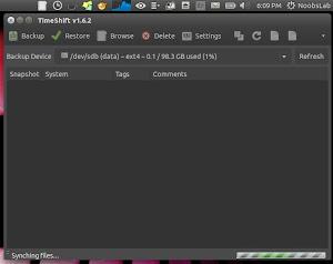 TimeShift linux mint