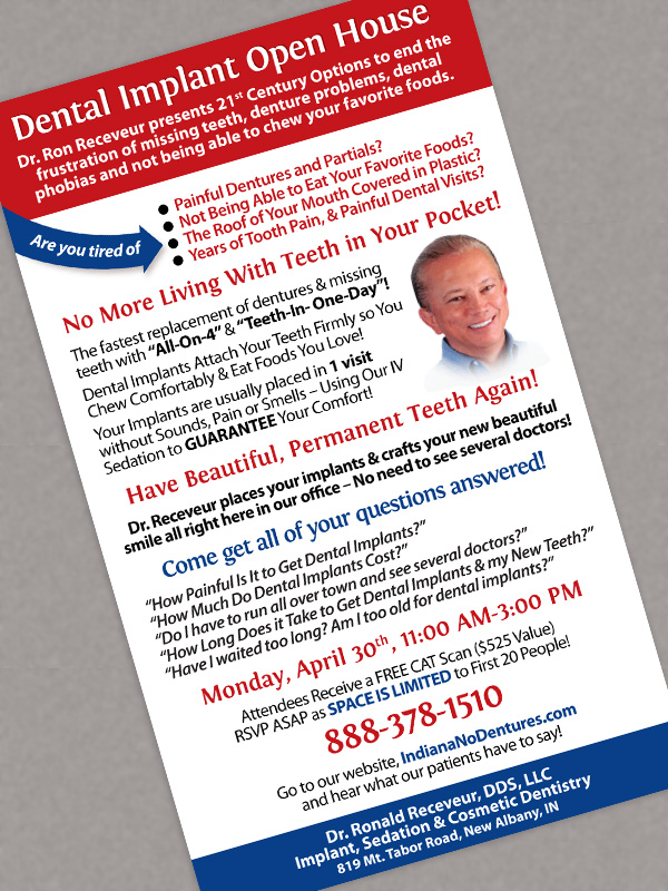 dentist's advertisement design