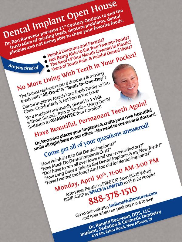 dentist's advertisement design