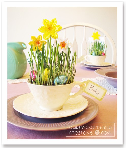 House on Ashwell lane Adorable place card holders for your kids – Easter Place Card Holders