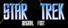 star trek font