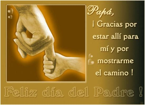 Feliz dia del Padre 2013