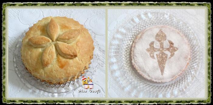 Bolo de reis e torta de Santiago