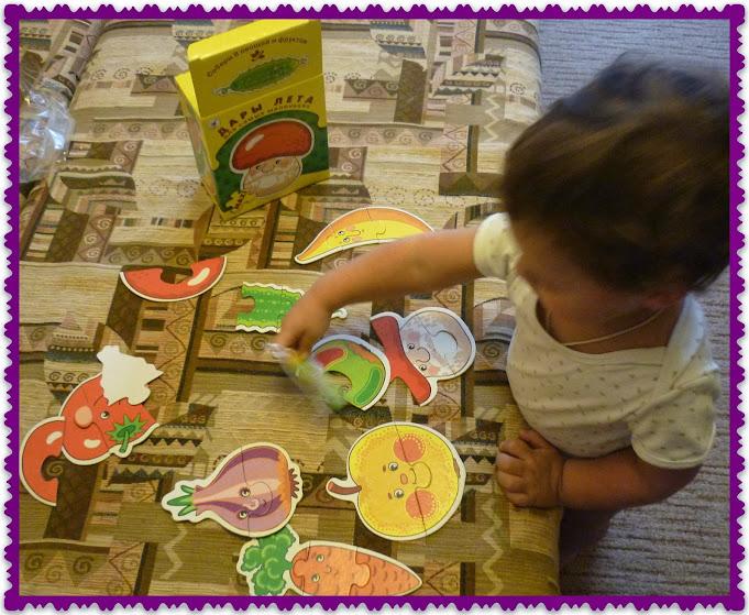 развивающие пазлы для малышей