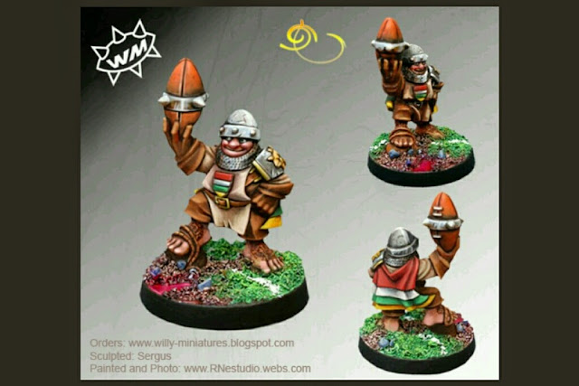 Capitan Rioja Star Players Blood Bowl Willy miniatures