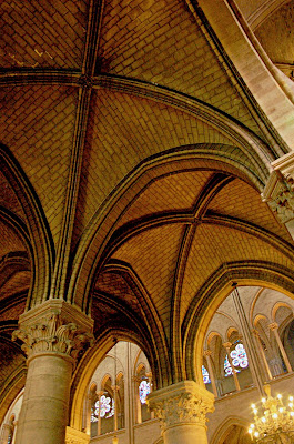 The Gothic Rib Vaults Were Flexible In Which They Could Take Various Shapes