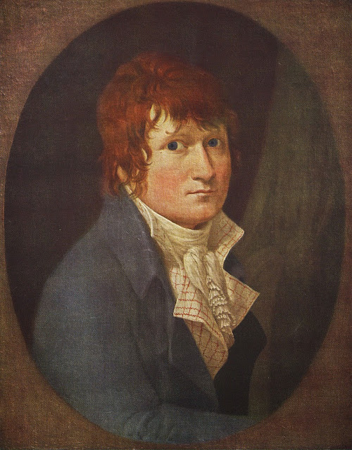 Christoffer Wilhelm Eckersberg - Self portrait, 1803