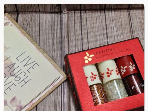 [Review] Innisfree 2014 Christmas Nail Set