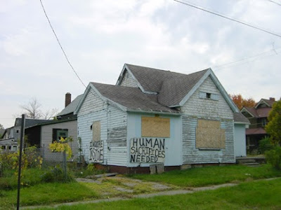 Struggling Flint MI running out of money to maintain abandoned properties