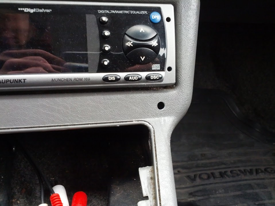 VWVortex com - Adding Aux Input to the Center Console DIY w/pictures
