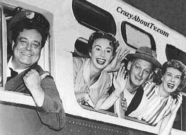 The Honeymooners: los Kramden (Jackie Gleason y Audrey Meadows) y los Norton (Art Cartney y Joyce Randolph