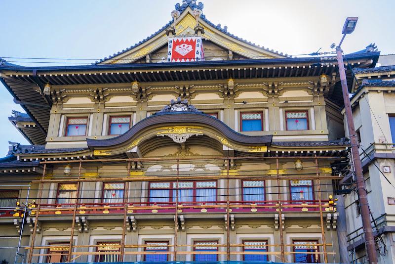 京都 祇園 南座 写真1