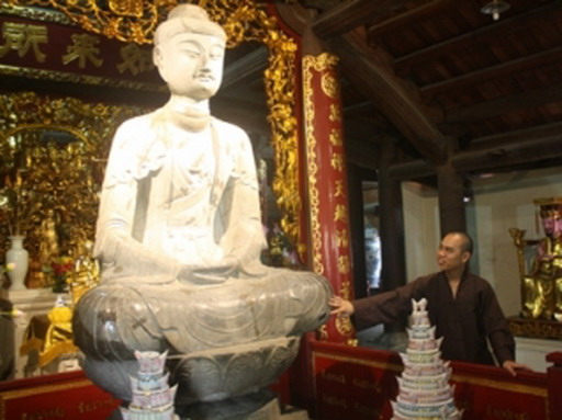 """Bước """"thăng trầm"""" của một pho tượng Di Đà – hay xuất xứ tên gọi làng Phật Tích"""