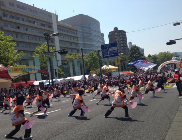 広島フラワーフェスティバル2013 きんさいYOSAKOI