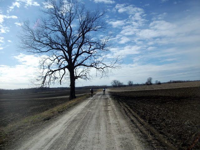 Long Gravel Road Ride