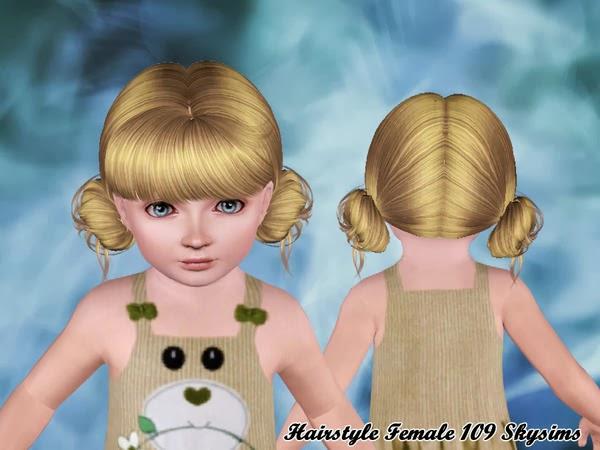 Peinado chica (de Skysims3)