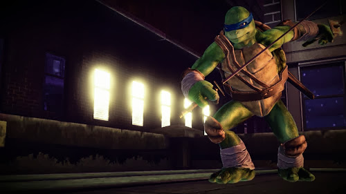 Screen Shot Of Teenage Mutant Ninja Turtles: Out of the Shadows (2013) Full PC Game Free Download at Alldownloads4u.Com
