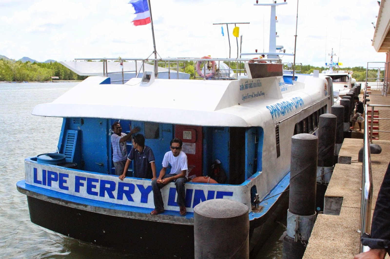 Travel from Krabi to Langkawi by Shared Minivan and High Speed Ferry