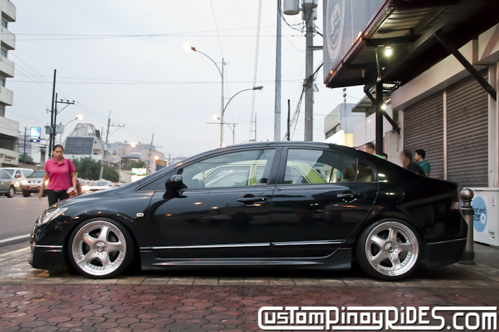 Bruce Montoya Tayao VIP Style Honda Civic FD Car Photography Custom Pinoy Rides pic3