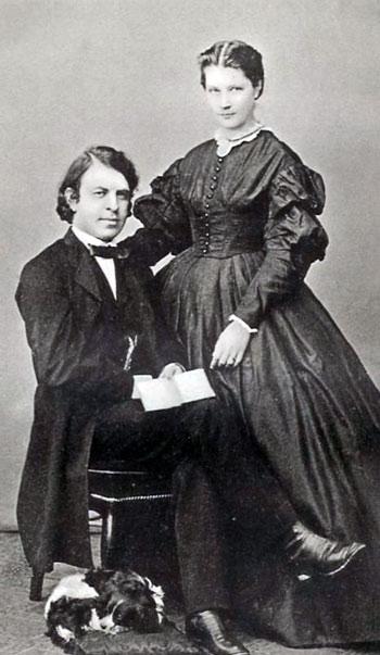 Joachim y su esposa