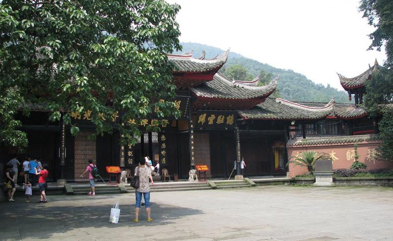 Baoguo Temple, Emeishan, Sichuan