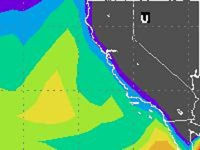 2 July 2012 0000 UTC - Tropo forecast before enhancement event. http://www.dxinfocentre.com/tropo_wam.html