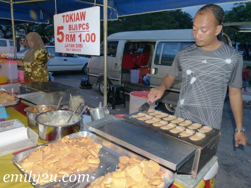 pasar malam Pekan Kuah