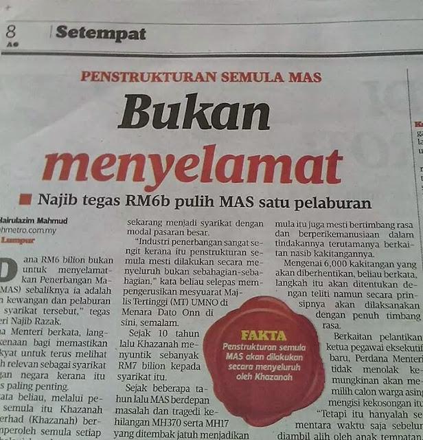 Betul Kata Mahathir