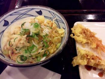 釜玉うどん@丸亀製麺所