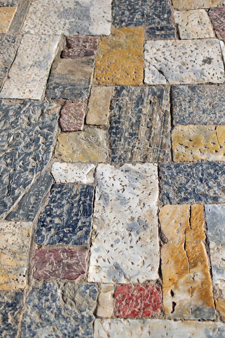 Floor of the Propylaea of the Athenian Acropolis.