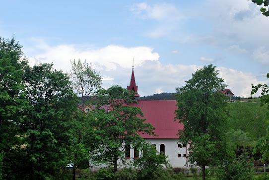 Bieszczady, Berezka, kościół,