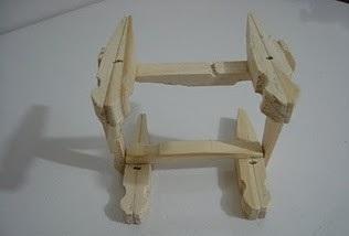 Como hacer una silla con pinzas de ropa - Como hacer un sillon paso a paso ...