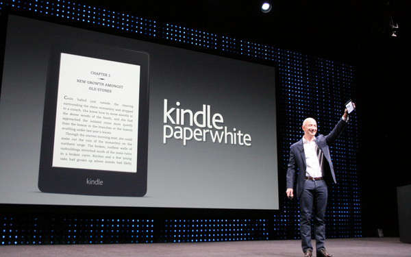 Amazon has Unveils Kindle Paperwhite