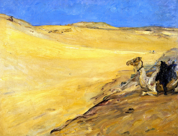 Max Slevogt - The Libyan Desert