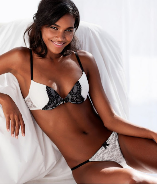 Fash Models Arlenis Sosa Pena Para H Amp M Lingerie