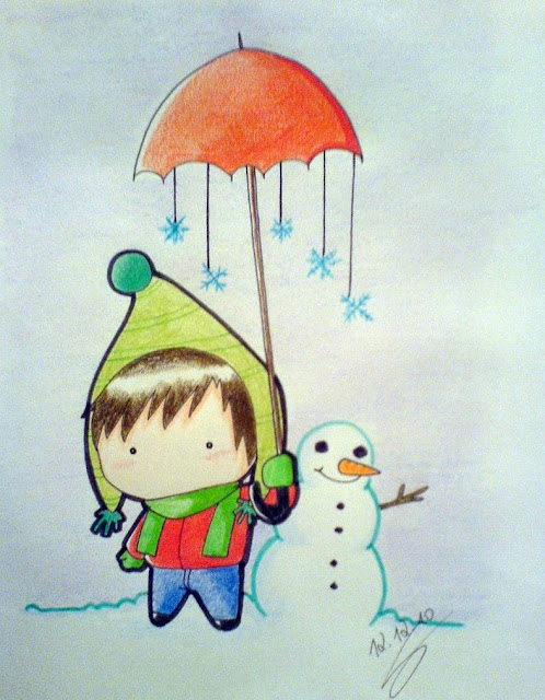 [Animation Pics] Owl City Chibi cực cute! Winter