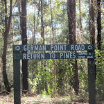 Intersection with German Point Rd in the Watagans (65390)