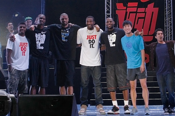 The 2011 LeBron James Greater China Tour wrapped up with Opening of Nike Festival of Sport