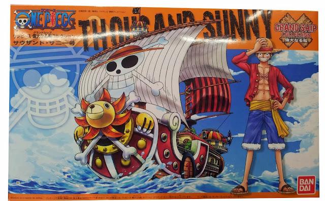 Mô hình One Piece Thousand được sản xuất từ chất liệu an toàn bởi hãng Bandai